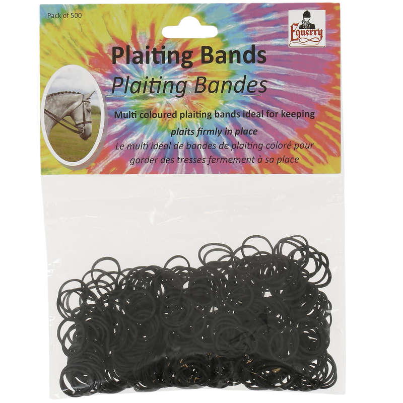 GROOMING - Braiding Elastic Bands x500 VALE BROTHERS