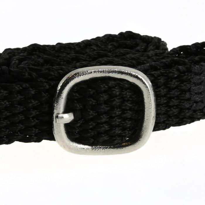 Sporen met rond uiteinde + riempjes voor dames ruitersport - 20 mm