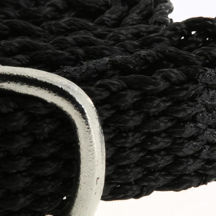 Espuelas equitación hombre punta redonda + correas 20 mm x 2