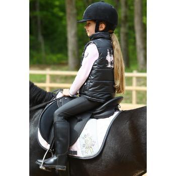 Pantalon chaud imperméable équitation enfant KIPWARM - 463795