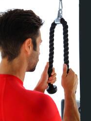 Triceps touw voor krachttraining - 464710