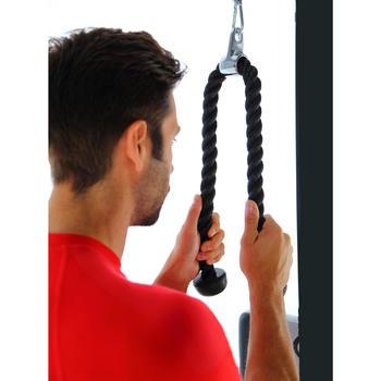 Cuerda de tracción musculación Domyos para tríceps