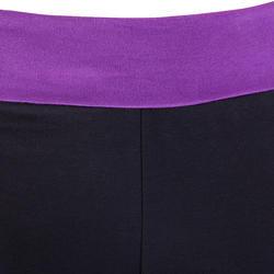 Yogabroek in katoen uit biologische teelt, voor dames - 46516