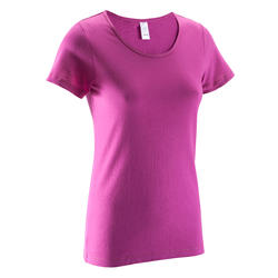 T-shirt gym & pilates Sportee dames - 46564