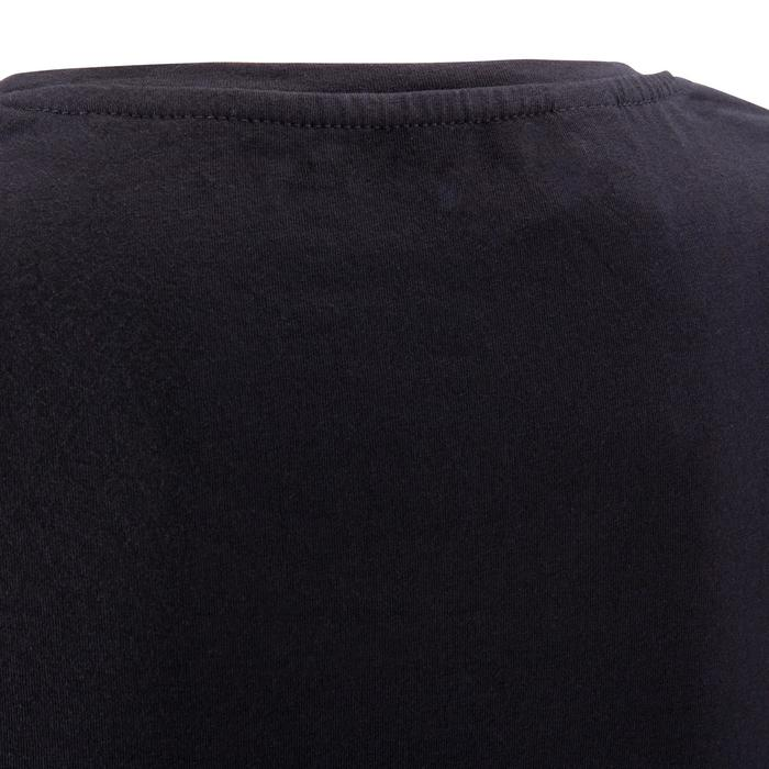 T-shirt coton elasthanne Athletee fitness Essentiel femme noir
