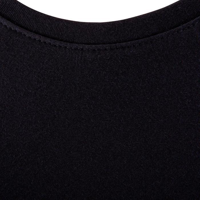 Fitness T-shirt Athletee Essentiel voor dames, katoen/elastaan, zwart