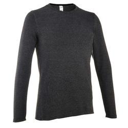男款健行針織衫NH100-深灰色