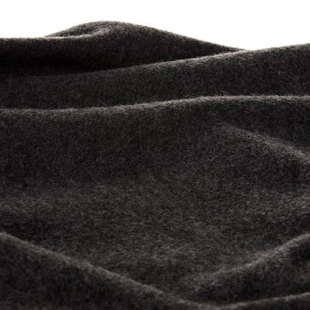 Sweater de hiking en la naturaleza para hombre NH100 gris oscuro