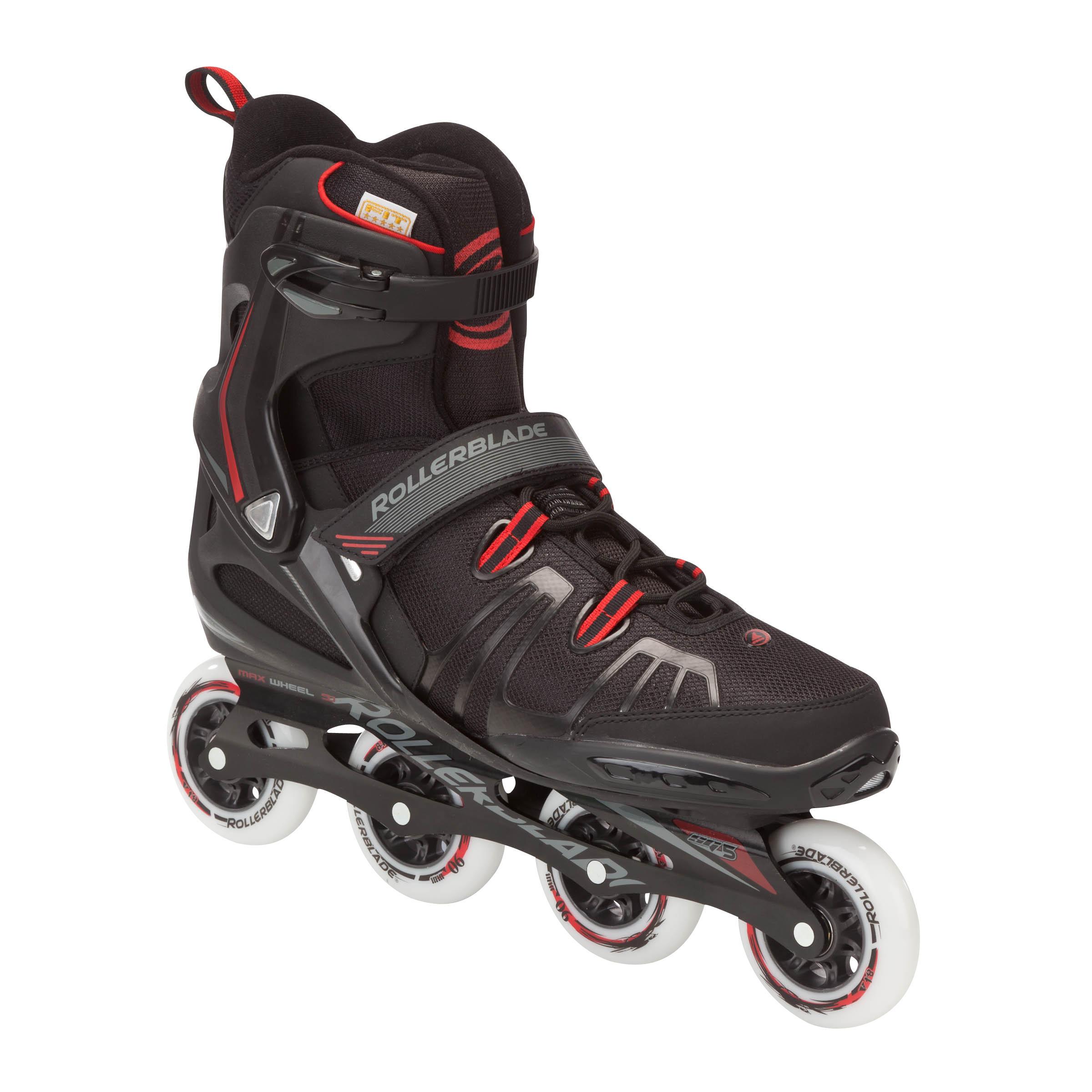 Rollerblade Fitness skates Rollerblade XL voor volwassenen zwart kopen