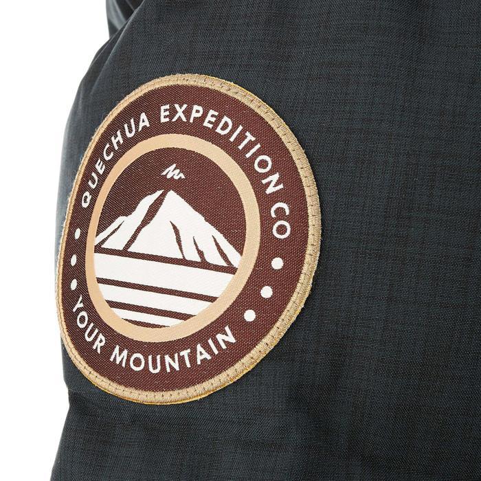 Parka trekking Arpenaz 1000 RainDown homme noir - 46734