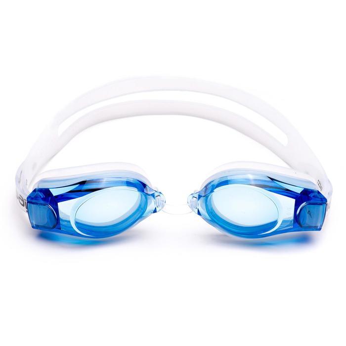 400度矯正泳鏡100 - 藍色