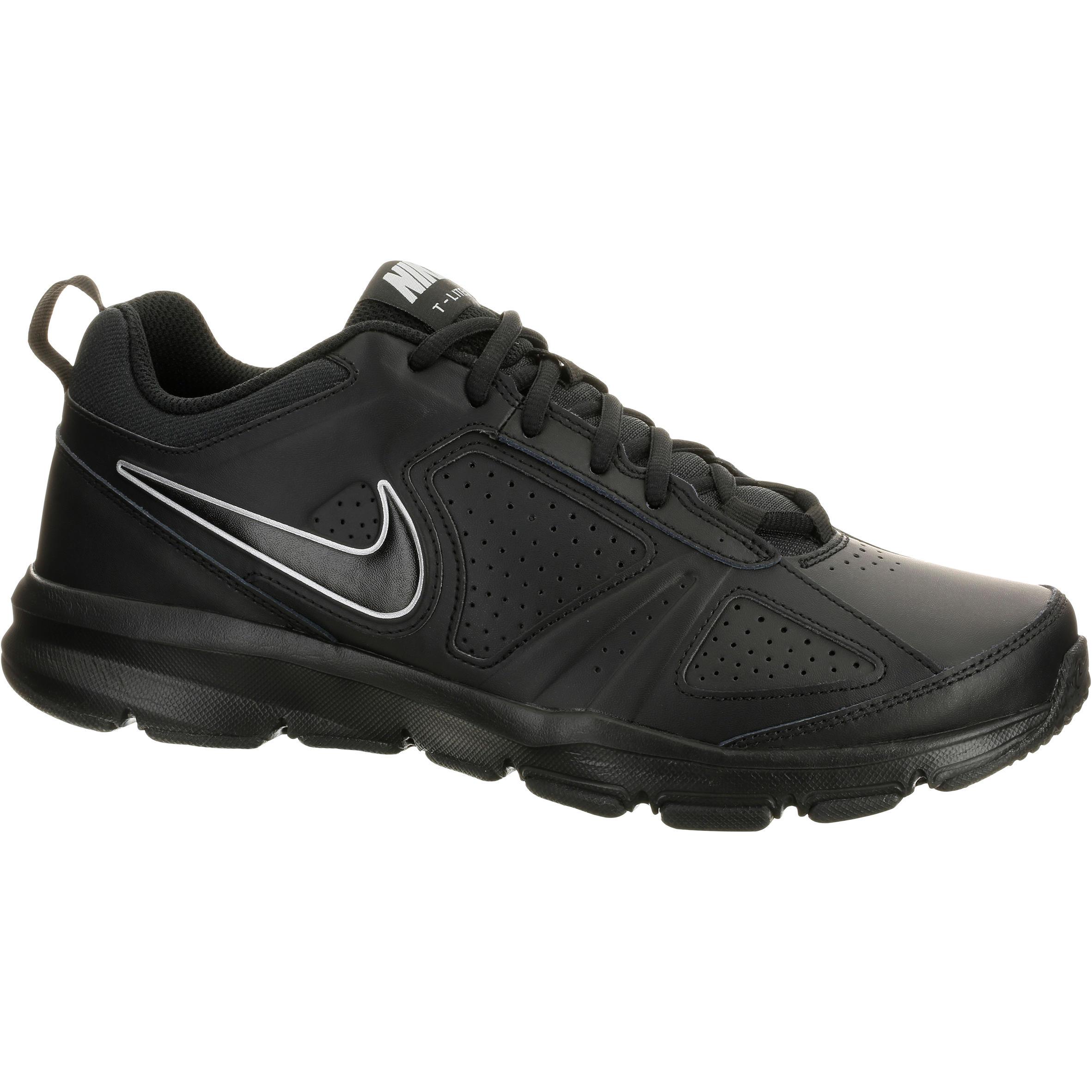 Chaussures marche sportive homme Nike T Lite noir NIKE