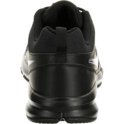 Herensneakers voor sportief wandelen Nike T-Lite zwart