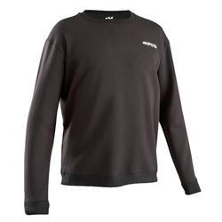 T100 Adult Football Training Sweatshirt - Black