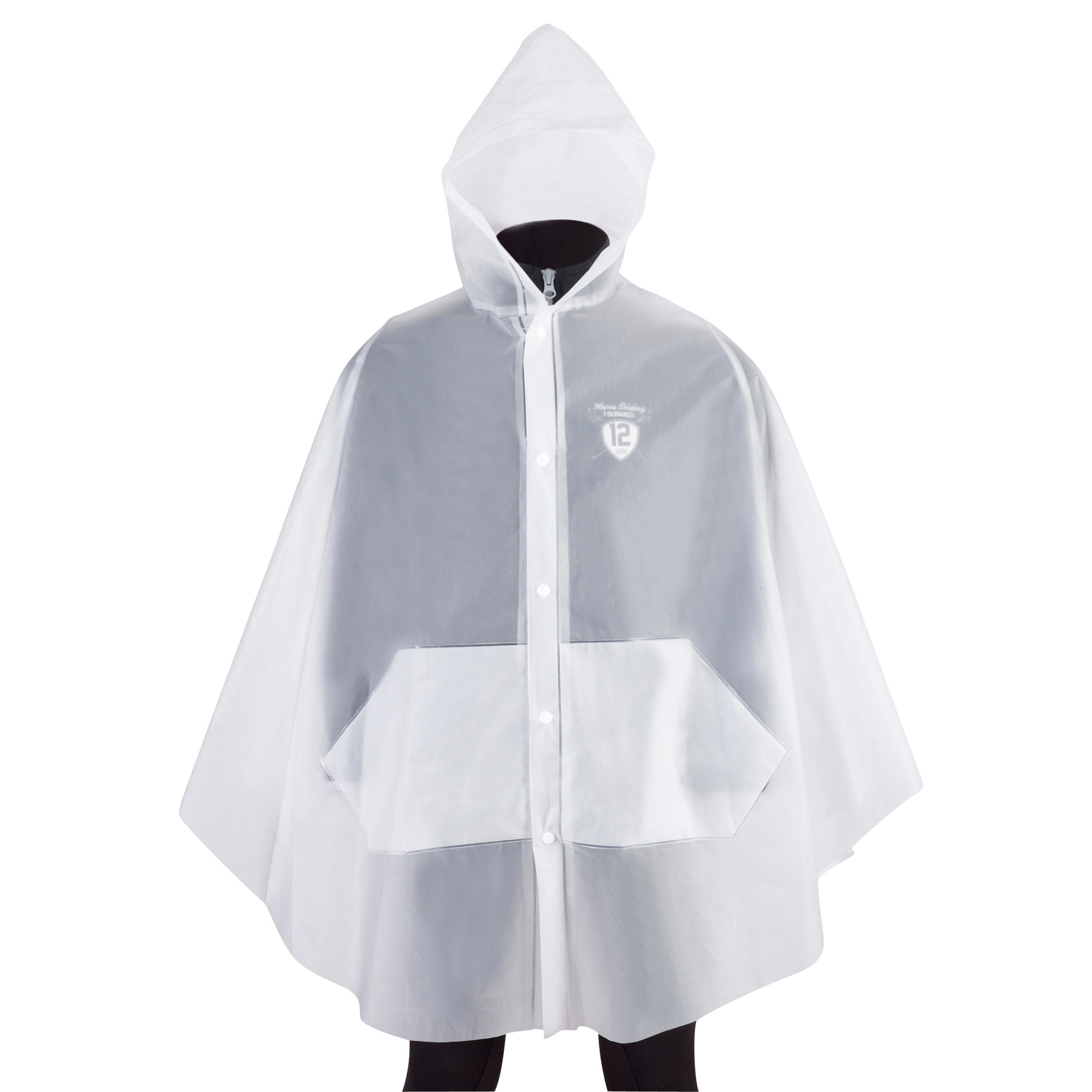 Children's Horse Riding Poncho - Clear
