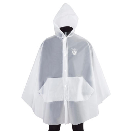 Kids' Transparent Waterproof Equestrian Poncho