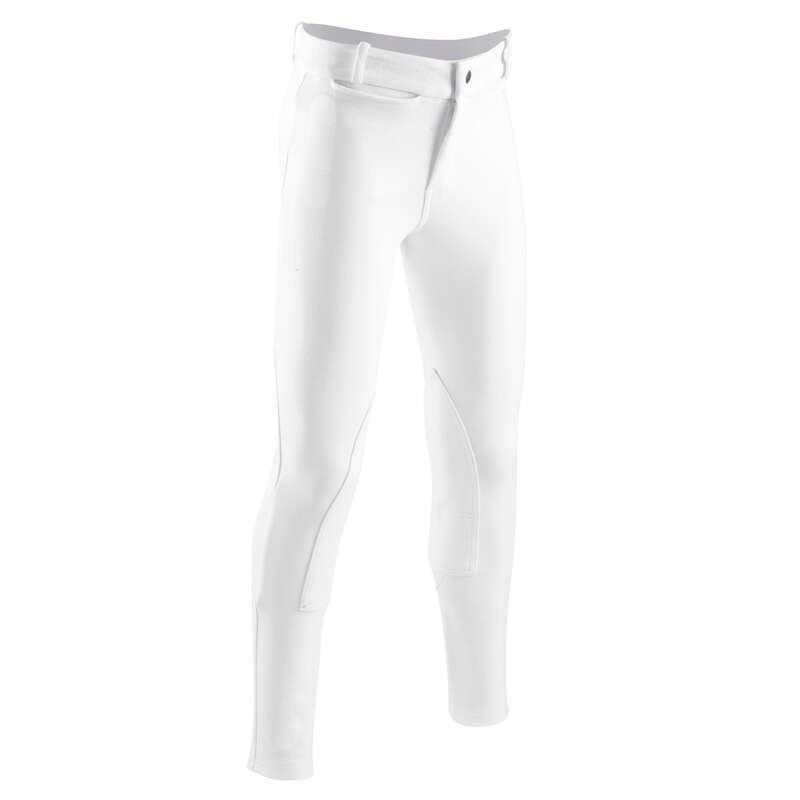 Yarışma KIYAFETLER - Çocuk Binici Pantolonu Beyaz FOUGANZA - TÜM ÜRÜNLER
