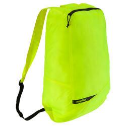 Kleine opvouwbare rugzak voor dagelijks gebruik Pocket Bag blauw met pijlen - 471290