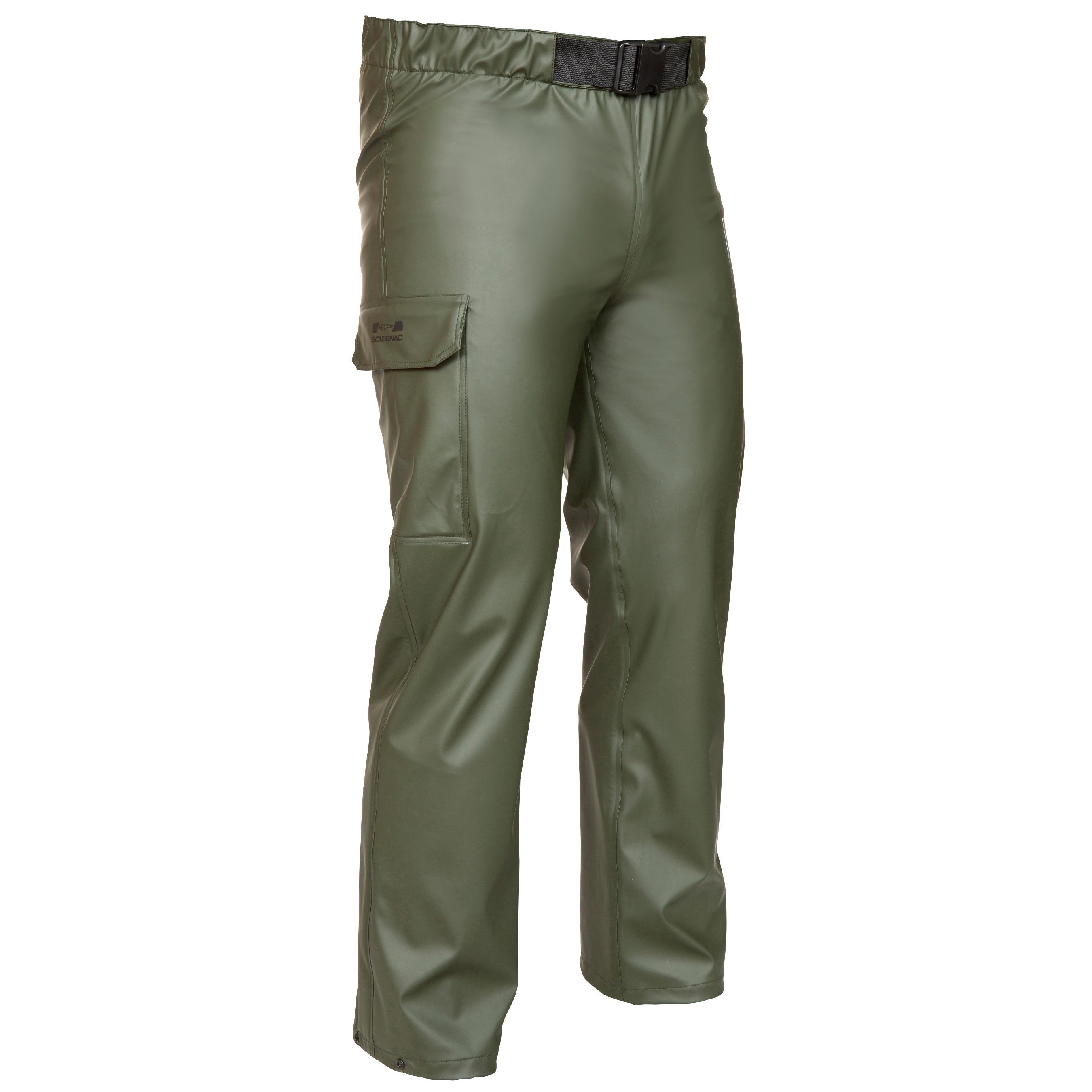 Jagdregenhose Glenarm 300 grün | Sportbekleidung > Sporthosen > Regenhosen | Grün - Khaki | Solognac