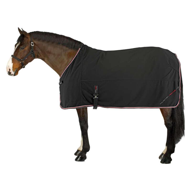 SHEETS & COOLER Horse Riding - Microfibre Drying Rug FOUGANZA - Saddlery and Tack