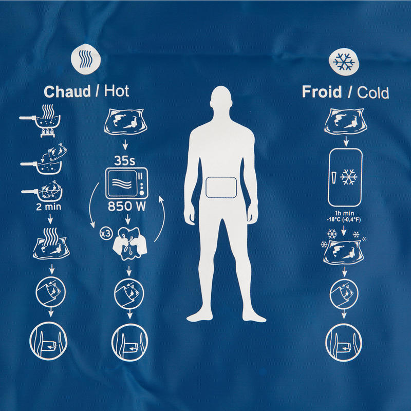 Chaud/Froid Compresse réutilisable chaude/froide taille L