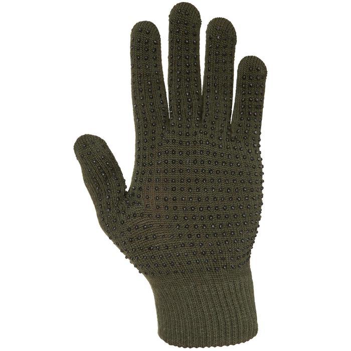 Handschoenen 100 voor de jacht groen - 474483