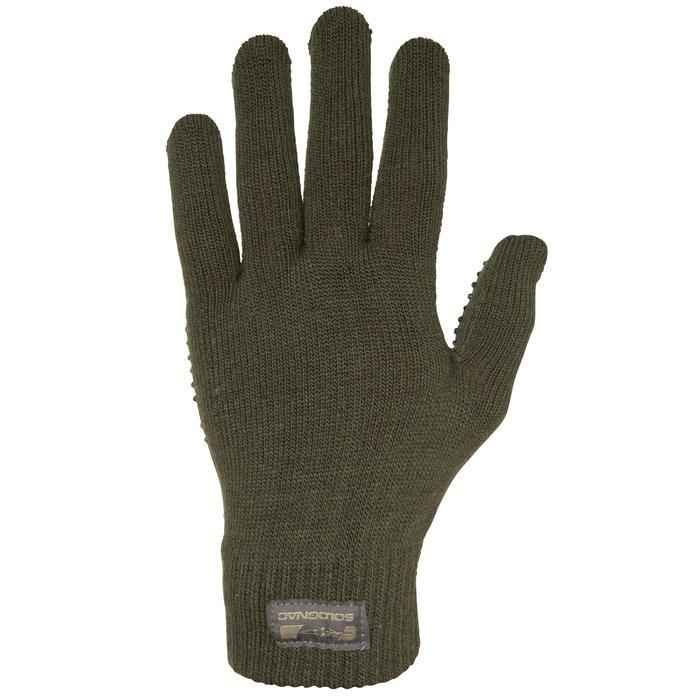Handschoenen 100 voor de jacht groen