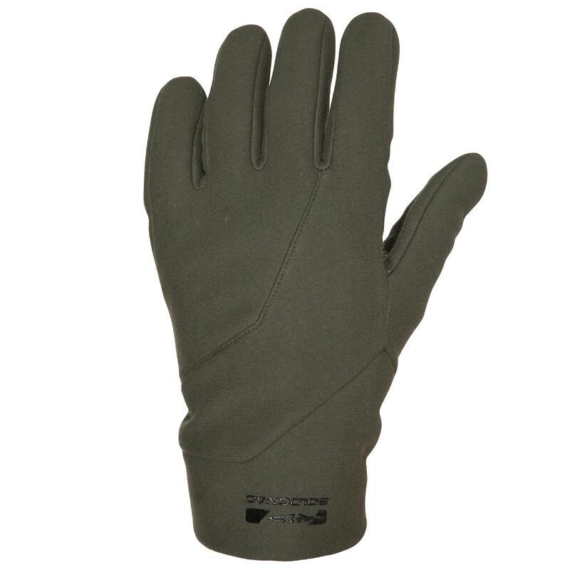 Gants de chasse polyester - 500 vert