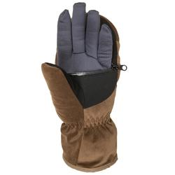 Handschoenen voor de jacht Toundra 500 bruin