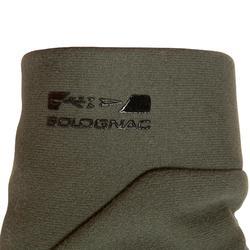 Jagd-Handschuhe 500 Softshellhandschuhe grün