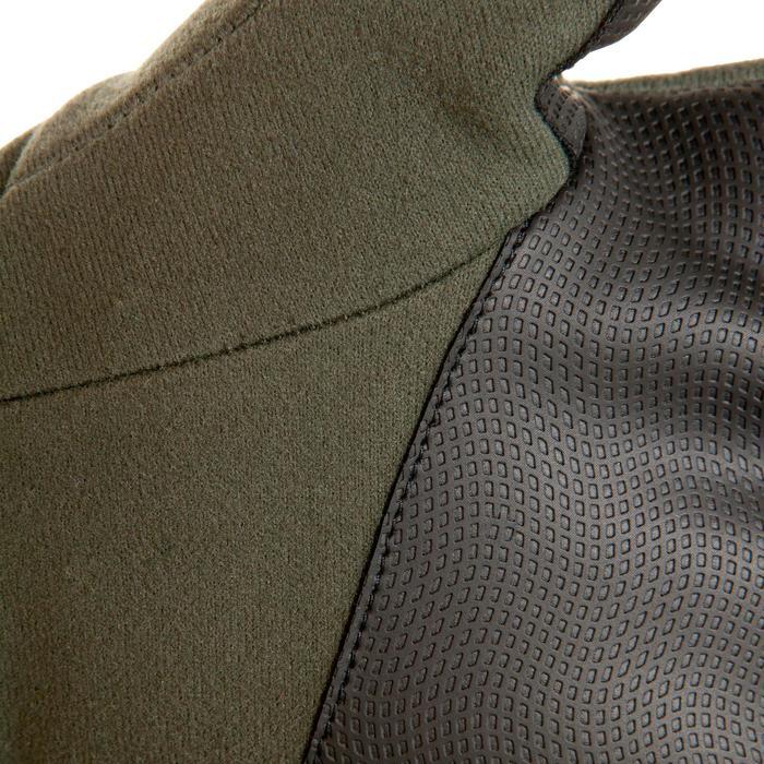 Gants chasse 500 Softshell vert
