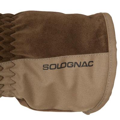 Рукавиці Toundra 500 для полювання - Коричневі