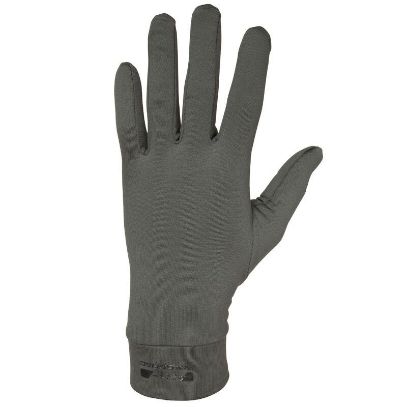 Sous gants de chasse polyester - 100 vert