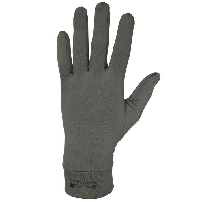 Sous gants chasse 100 olive noir - 474511