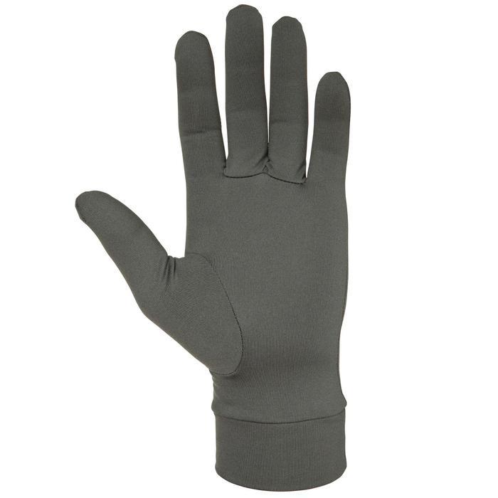 Sous gants chasse 100 olive noir - 474512