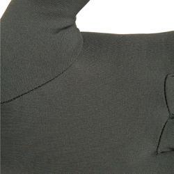 Onderhandschoenen voor de jacht Taiga 100 olijfgroen/zwart - 474521