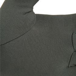 Onderhandschoenen voor de jacht 100 olijf zwart