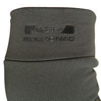 Sous-gants chasse 100 olive noir
