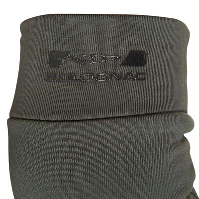 Внутрішні рукавиці 100 для полювання - Оливкові/Чорні