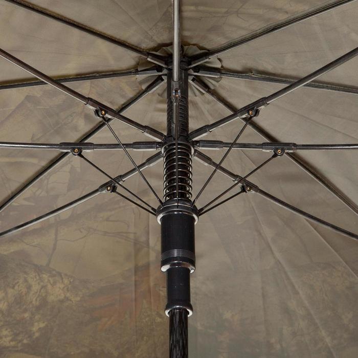 Paraguas Caza Solognac Kamo-BR 121 Cm Diametro Camuflaje Marrón