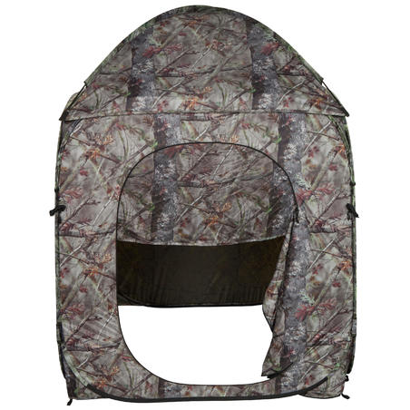 Hunting Hide Tent - Brown Camo