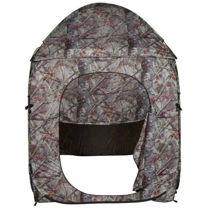Loertent voor de jacht camouflage bruin - 474640
