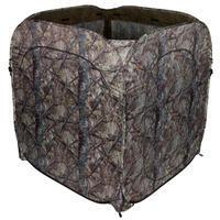 Medību slēpnis-telts, brūna kamuflāža