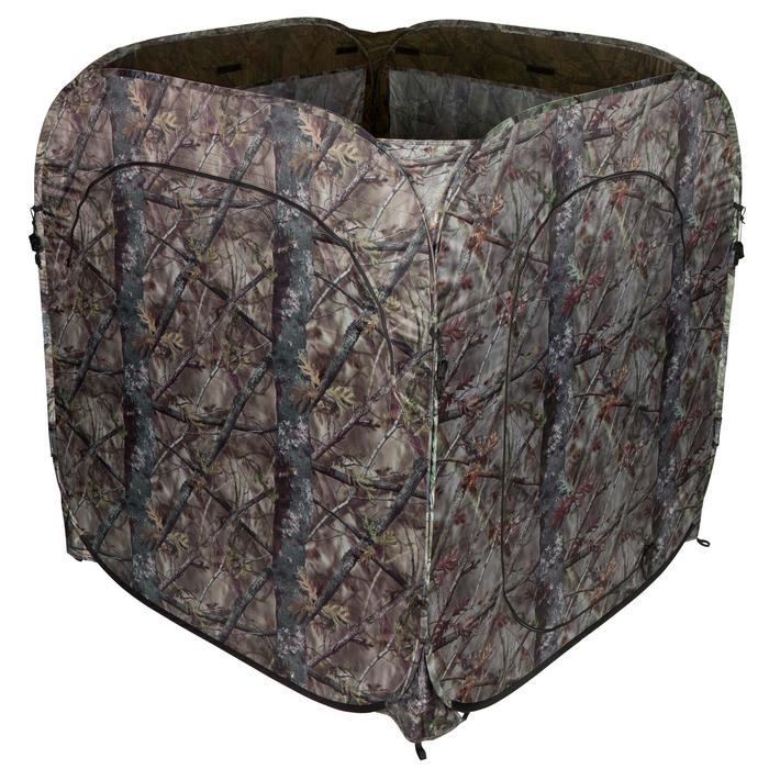 Loertent voor de jacht camouflage bruin - 474642