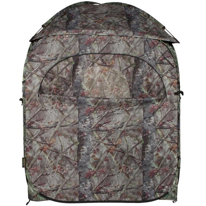 Loertent voor de jacht camouflage bruin - 474645