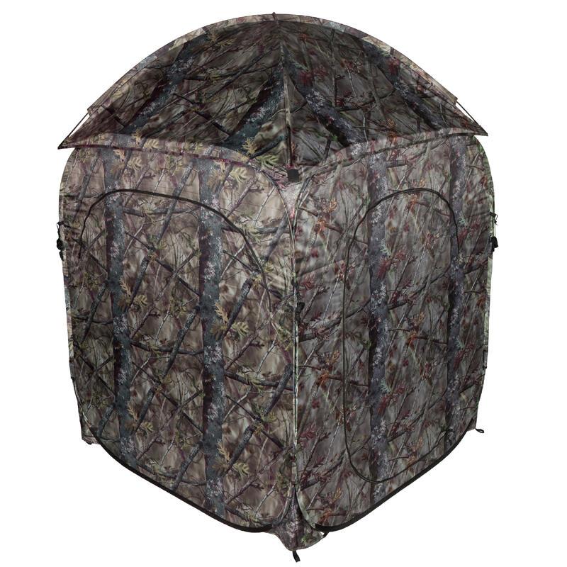 Loertent voor de jacht camouflage bruin
