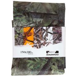 3D NT camouflage jachtzeil moerasgroen 150x380
