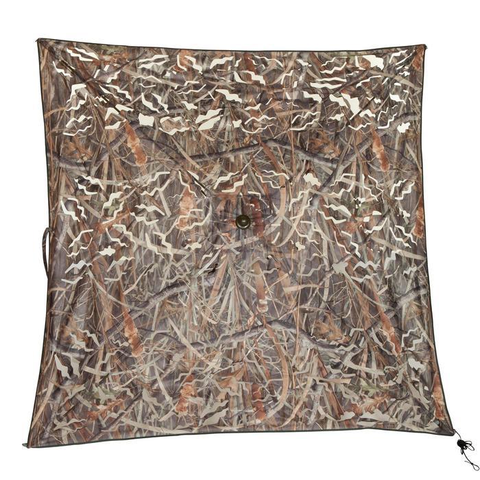 Affût chasse écran 3D camouflage marais - 474684