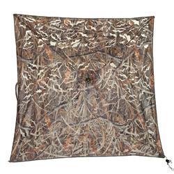 Affût chasse écran 3D camouflage marais