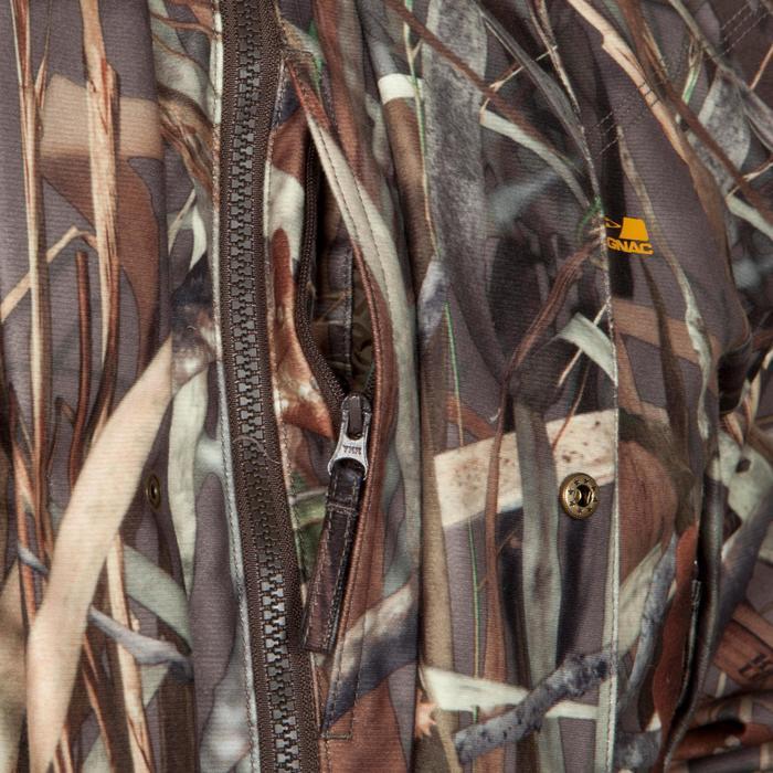 Veste chasse Sibir 300 camouflage marais - 474827